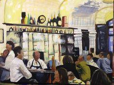 Bar scene (acrylic), Charmaine Lim