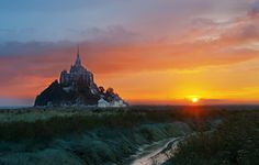 Замок Мон-Сен-Мишель. (Fougerouse Arnaud)