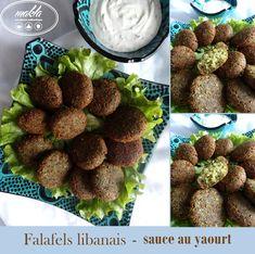 Falafels libanais – sauce au yaourt | makla - La cuisine authentique