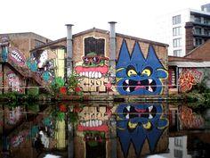 Urban Art at Sartorial Contemporary Art, Burning Candy and Sartorial at Kings Cross, Tek33, Sweet Toof, Cyclops, Burning Candy, Street Art at Sartorial, Graffitti Artists