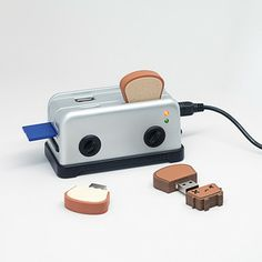 USB Toaster Hub, $20, now featured on Fab.