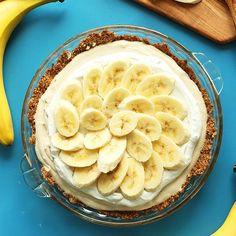Vegan Banana Cream Pie | Minimalist Baker Recipes