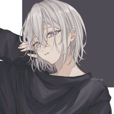 奈 on - Everything About Anime Manga Anime, Manga Kawaii, Kawaii Anime Girl, Anime Art Girl, Manga Girl, Dark Anime Girl, Cool Anime Guys, Pretty Anime Girl, Cute Anime Boy