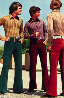 70s Flared Pants Is it okay for me to admit that these guys look sooooo good dressed like this?