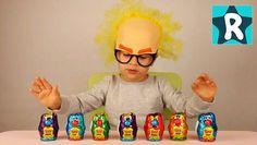 Всем Салют! Сегодня Ромчик открывает Яйца Сюрприз которые мы привезли с Кипра. Нам попализь забавные игрушки Boof и другие зверюшки. Распаковка от Рома Шоу проходила в интересной маске професора. Распаковка яйца сюрприз на нашем канале частое явление, так как все дети любят игрушки сюрприз, и Рома тоже. Смотрите другие видео распаковка в плей листах канала Рома Шоу.Детский канал мои друзья Мистер Макс и Мисс Катя . ★ Яйца СЮРПРИЗ и Игрушки Boof Интересная Распаковка от Рома Шоу Roma Show