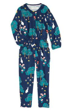 Mini Boden Mini Boden Print Jumpsuit (Toddler Girls, Little Girls & Big Girls) available at #Nordstrom