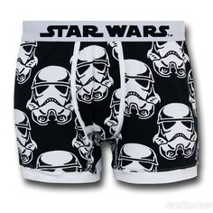 Star Wars Trooper Mugshot Boxer Briefs stormtrooper the empire darth vader mens apparel underwear