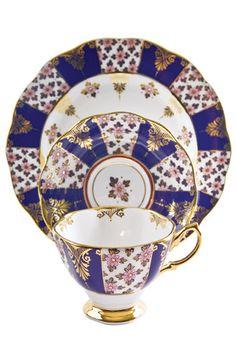 Royal Doulton - Regency Blue -1900