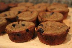 Toddler Muffins: Zucchini Banana Blueberry Oatmeal Sugar-Free muffins