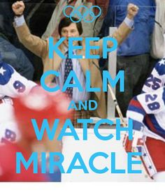 KEEP CALM AND WATCH MIRACLE