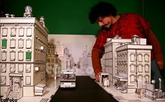 sets for animated stop motion films | set from stop motion animated film the falling miniature tree set ...