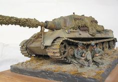 Dioramas and Vignettes: Tankers at Rest