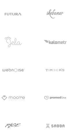 Logos 2011-2012 by Piotr Szmilyk, via Behance