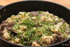 cookvalley - tanker om mad: Okseinderlår med blomkål og porrer