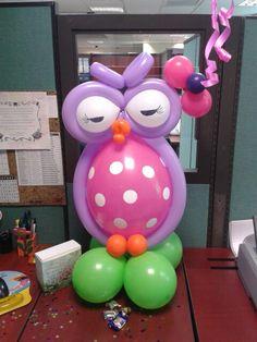 #balloon #sculpting - #owl