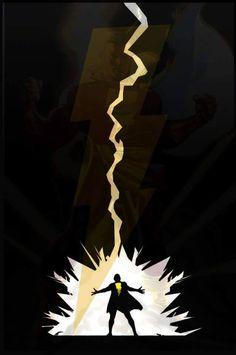 Shazam Ms Marvel, Captain Marvel Shazam, Dc Comics Poster, Dc Comics Heroes, Superhero Poster, Batman Poster, Shazam Comic, Superman, Univers Dc