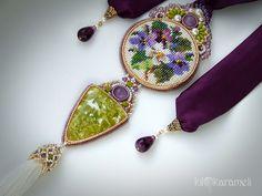 Виолетта | biser.info - всё о бисере и бисерном творчестве