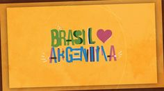 """Mais // More www.behance.net/gallery/Brasil-Argentina/10034887  Video de 5 segundos com o tema """"Brasil ❤ Argentina"""". Inspirado no projeto Animated Franchise (animography.net/products/franchise), produzi meus próprios caracteres animados a partir da fonte Chalet Comprime.  // 5 second video with the theme """"Brasil ❤ Argentina"""". // Inspired by the Animated Franchise project (animography.net/products/franchise), I made my own animated characters from the font ..."""