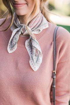 necktie bandana scar