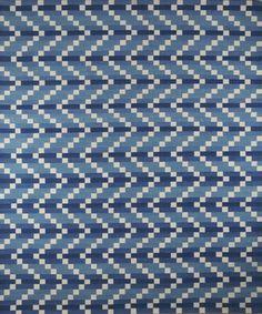 Ziz rug in Blue designed by Zak Profera for Decorative Carpets Inc.