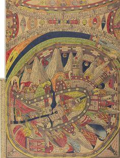 《ネゲルハル〔黒人の響き〕》1911年 ベルン美術館 アドルフ・ヴェルフリ財団蔵 ⒸAdolf Wölfli Foundation, Museum of Fine Arts Bern