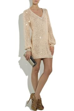 Sequin sweater dress from Stella McCartney
