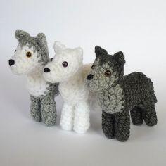 Ravelry: Little Wolf/huskey pattern by Kati Galusz