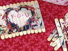 Fotos estilizadas no palito de picolé   Tudo Simples   Artesanato   Bemsimples.com
