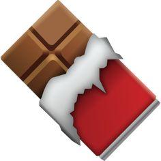Download Chocolate Bar Emoji Icon For Free