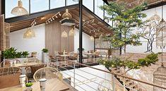 Shoe Store Design, Cafe Shop Design, Cafe Interior Design, Bakery Design, Commercial Interior Design, Interior Architecture, House Design, Exterior Design, Interior And Exterior