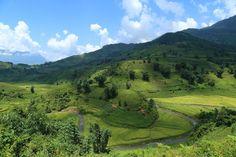 La Chine juste de l'autre côté de la vallée de Y TY #sapa #vietnam. Pour en savoir plus : http://360degresvietnam.com/y-ty-sapa-nord-du-vietnam/