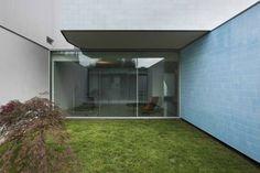 Casa Ricardo Pinto : Jardins modernos por CORREIA/RAGAZZI ARQUITECTOS