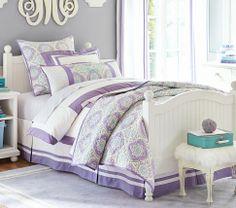 girls purple,lavender teal bedroom ideas