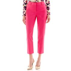 Stylus™ Twill Crop Pant - JCPenney