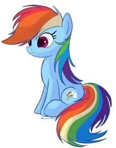 [MLP:FIM] Rainbow Dash by Molochko-Persik.deviantart.com on @DeviantArt