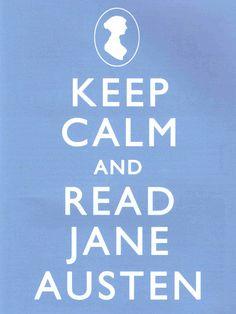 Keep Calm Read Jane Austen