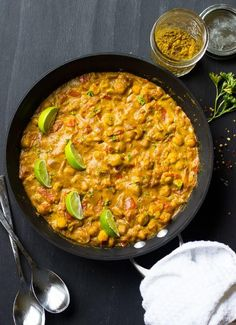 Vegan Coconut Chickpea Curry | This vegan curry recipe is going to be the best thing you've ever had!