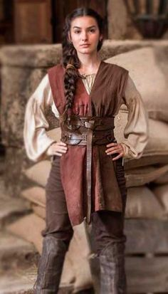 medieval clothing Selena looks deus salve - clothes Medieval Costume, Medieval Dress, Medieval Clothing, Medieval Outfits, Medieval Fashion, Medieval Peasant, Historical Clothing, Moda Medieval, Fantasy Costumes