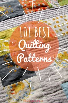 Wow, this list is incredible. Free quilt block patterns, quilt patterns for baby, and more