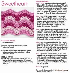 Nice crochet heart zig zag, ripple afghan free pattern. Cute for a baby blanket.