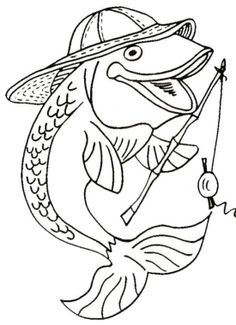 Rainbow Trout Picture to Color 4 Rainbow Trout Coloring Page with