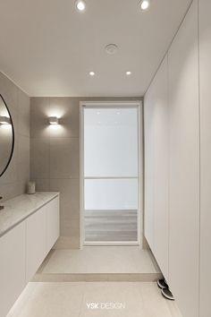 Home Interior Design, Exterior Design, Interior Architecture, Interior And Exterior, Korean Apartment, Door Design, House Design, Bohemian Bathroom, Downlights