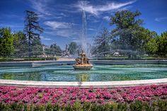 Jardín del Parterre. Aranjuez. Comunidad de Madrid