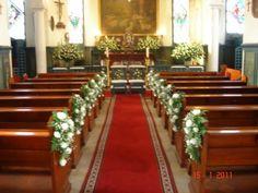 Decoraciónes de bodas para iglesias - Imagui