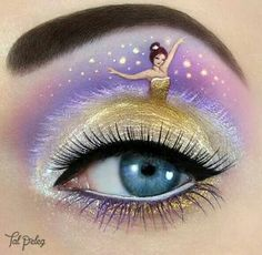 Passionate makeup painting by Tal Peleg  Belle