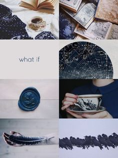Ravenclaw aesthetic - moodboard