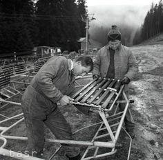 Prípravy na Svetovú zimnú univerziádu v Jasnej v roku 1987