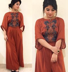 10 Looks That Are Testimonial Of Zaira Wasim's Superstar Status Kurti Designs Party Wear, Kurta Designs, Blouse Designs, Dress Designs, Pakistani Dresses Casual, Indian Dresses, Indian Outfits, Western Dresses, Simple Dresses