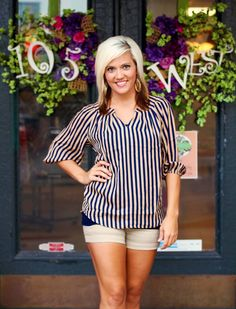 """""""Kennedy"""" Blouse $38.50 