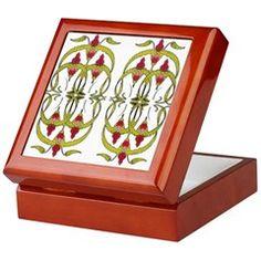 Ladyslipper Keepsake Box http://www.cafepress.com/izmetsdream.1341879182